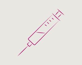 Poodinės skleroterapijos adatos piktograma
